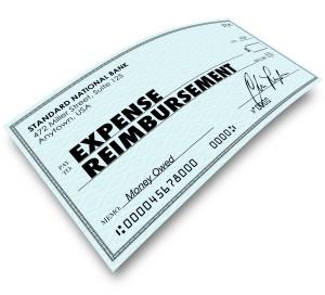 Expense Reimbursement check
